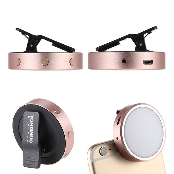 Yongnuo-yn06-clip-on-smartphone-flitser-rose-gold 4