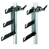 Крепление Manfrotto 044 Triple Background Hook Set with Clamps